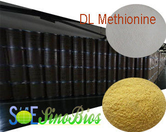 Feed Grade Amino Acid Powder DL-Methionine Purity 98.5% Min. SAA-METDL985